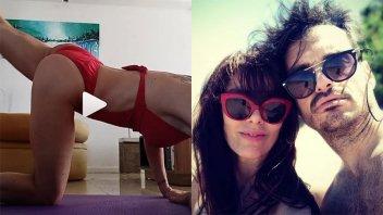 Viviana Saccone, muy sensual haciendo ejercicio y a los besos con su nuevo novio