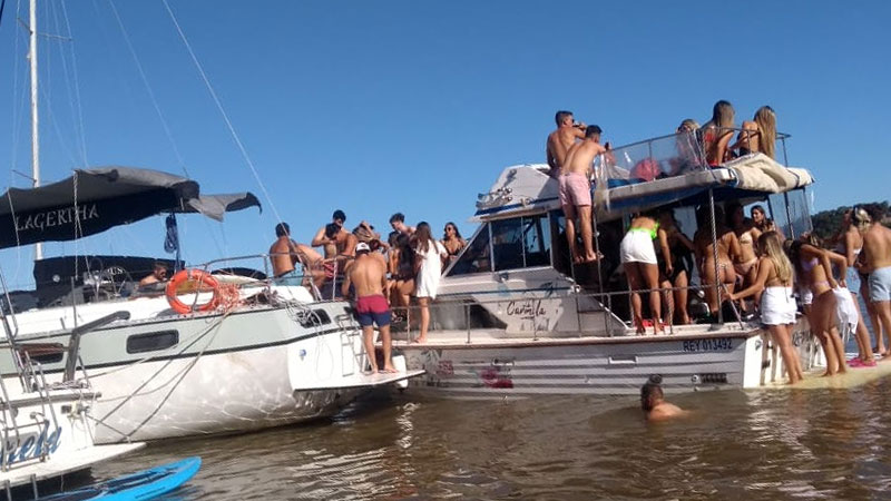 Preocupan fiestas en zona de islas de Paraná