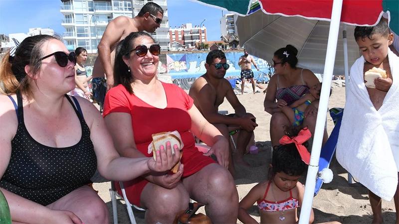 Los gastos en las playas de Mar del Plata