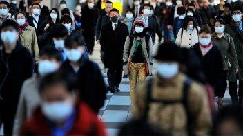 Preocupación en Japon por detección de una nueva cepa de coronavirus