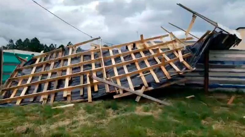 El temporal causó una muerte en Entre Ríos.