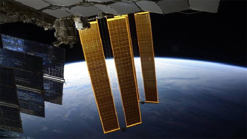 Desde la estación espacial