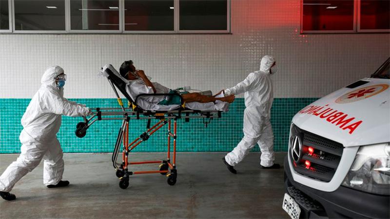 Transfieren a pacientes de COVID al escasear oxígeno — Brasil