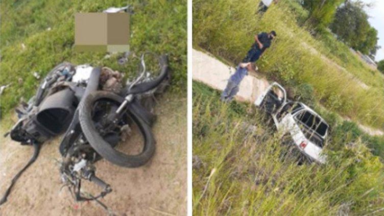 Un motociclista falleció tras el choque frontal contra una camioneta