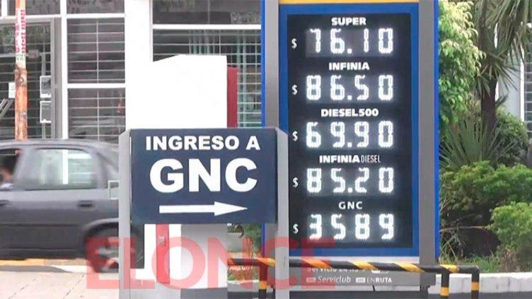 Nueva suba de combustibles: los precios que rigen desde hoy en Paraná