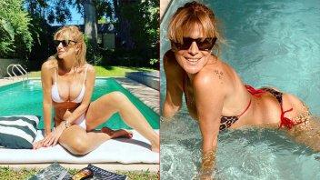 Flavia Palmiero sigue acaparando la atención con sus fotos en trajes de baño