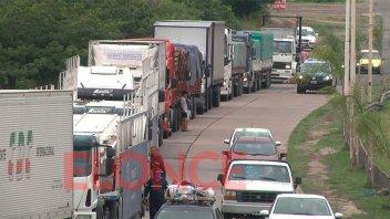 Transportistas anuncian un corte total de tránsito en el Túnel Subfluvial