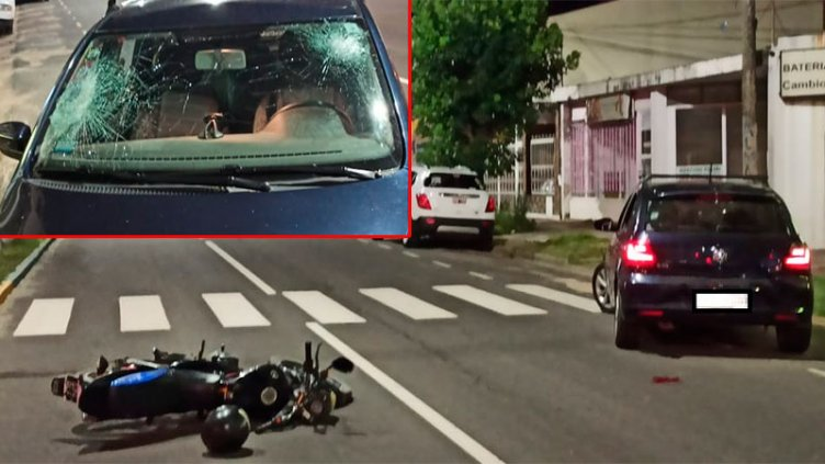Ebrio agredió a automovilista tras un accidente en Paraná y terminó detenido