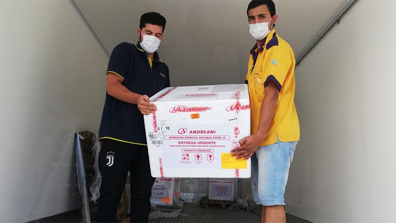 Llegaron a Entre Ríos las segundas dosis de la vacuna contra el covid 19