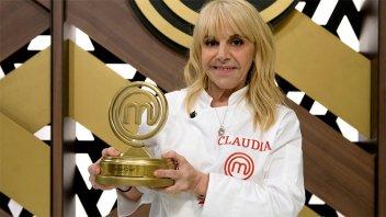 Claudia Villafañe se consagró como la gran ganadora de MasterChef Celebrity