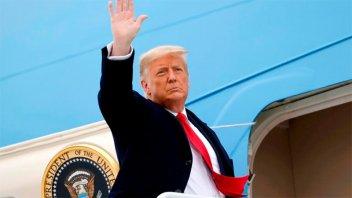 Trump fue absuelto en el juicio político por los disturbios en el Capitolio
