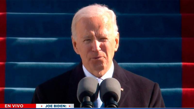 Joe Biden juró como el nuevo presidente de los Estados Unidos