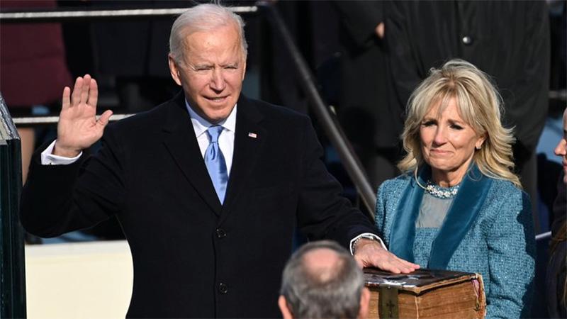 Joe Biden asumió como presidente de EE.UU con un llamado a la unidad del país