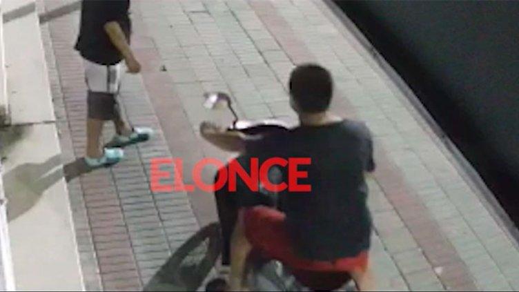 Video: robaron una moto en 30 segundos en calle Gualeguaychú de Paraná
