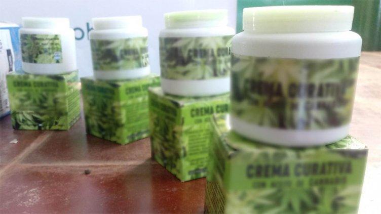 Decomisaron en Entre Ríos potes de crema de marihuana ocultos en encomienda