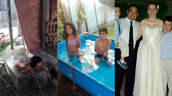 Santa Elena: Usaba una heladera de pileta y una familia le regaló su pelopincho