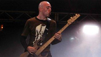 A los 45 años murió el ex bajista de Catupecu Machu, Gabriel Ruiz Díaz