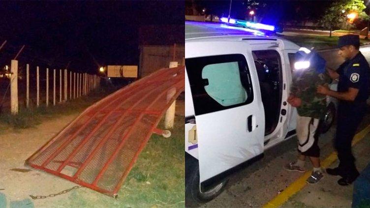 Irrumpió en predio municipal para llevar su vehículo retenido por conducir ebrio