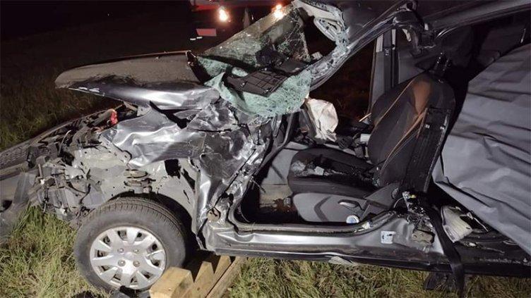 Un muerto y varias personas heridas en un choque en Ruta 12: fotos