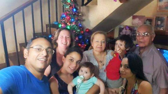 Contrajo covid, estuvo en coma y un audio de su nieto le dio esperanzas