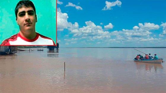 El joven buscado en el río estaba pescando para pagar una ecografía a su mujer