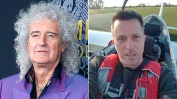 Brian May despidió al ex guitarrista argentino que murió en accidente aéreo