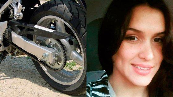 Otro golpe en medio del dolor: robaron la moto a hermano de joven accidentada