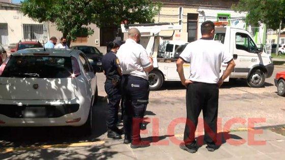 Acusaciones cruzadas por operativo de tránsito frente al Hospital San Roque