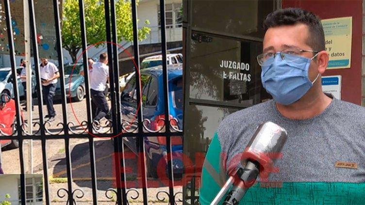 Tensión frente a Hospital San Roque: inspector denunció agresión y dio detalles