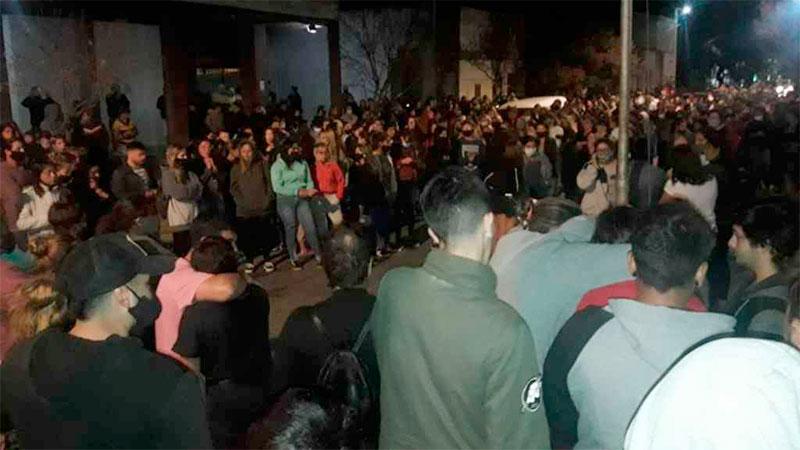 Salieron a las calles a exigir justicia por la muerte de Úrsula.