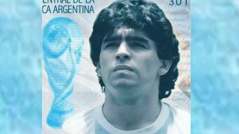 El billete de Maradona no podrá ser.