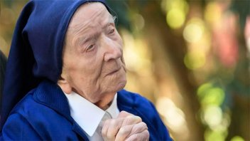 Superó el Covid a los 117 años: la religiosa es la persona más longeva de Europa
