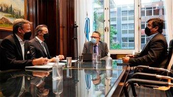 El Intendente Bahl presentó proyectos de inversión al ministro Kulfas