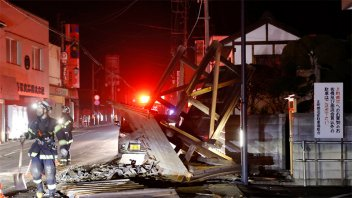 Japón: el sismo que sacudió Fukushima sería una réplica del terremoto de 2011