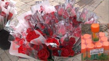 Día de los Enamorados: ofrecen un combo de una rosa y un repelente a $400
