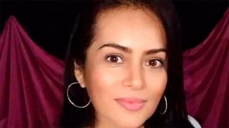 Mirna Palma fue asesinada de un disparo en la cara.