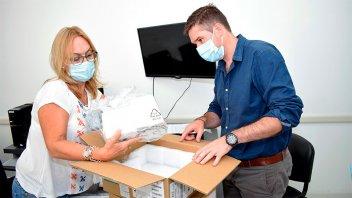 Entregaron equipamiento a dos hospitales de la provincia