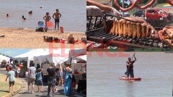 Feria, camping, playa y río, los atractivos del feriado por Carnaval en Paraná