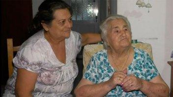 """Sara cumplió 100 años en Crespo y contó: """"siempre me gustó trabajar"""""""