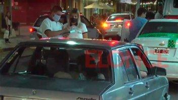 Continúan controles de tránsito y de alcoholemia en el centro de Paraná
