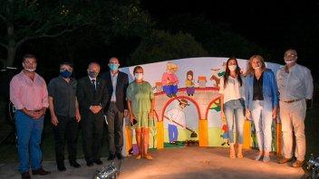 Gobierno acompañó lanzamiento de actividades culturales en Spatzenkutter