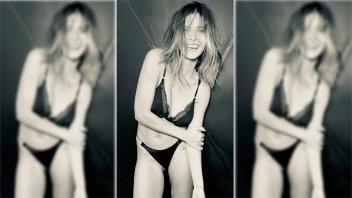 La sensual producción de fotos de China Suárez que cosechó halagos