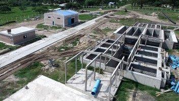 Tiene un 70% de avance la obra para la nueva planta de agua de La Paz