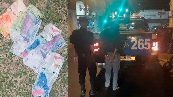 Sujeto asaltó un quiosco en Paraná e hirió a la mujer que lo atendía
