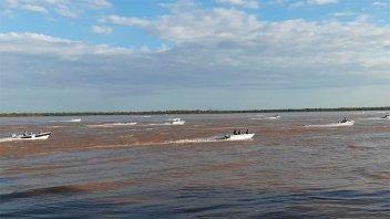 Video: Con 110 lanchas arrancó el concurso de Pesca variada en Villa Urquiza