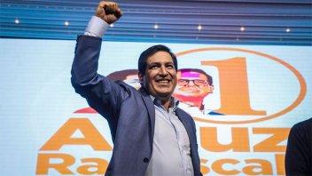 Resultados finales en Ecuador: Arauz competirá con Lasso en el balotaje