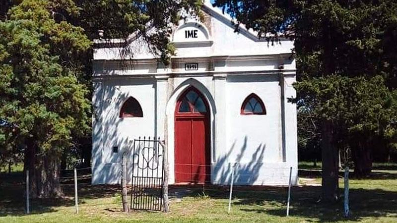 Capilla Iglesia Evangélica Metodista de Rosario del Tala.