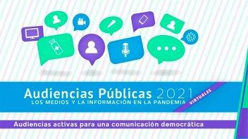 Se realizará la Audiencia Pública de Servicios de Comunicación Audiovisual