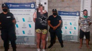 Secuestro virtual: dispusieron diez días de prisión preventiva para la pareja