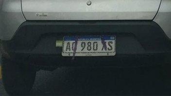 Confirman que es delito alterar apariencia de chapa patente de vehículo